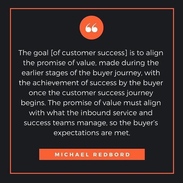Michael Redbord Customer Success