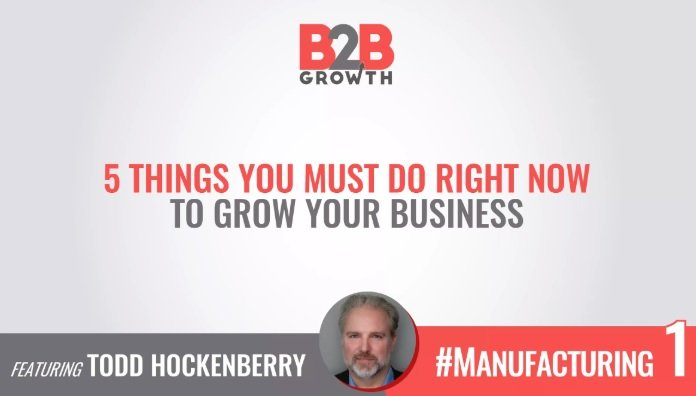 5 things you must do right now to grow your business
