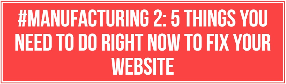 5 things you need to do right now to fix your website 1